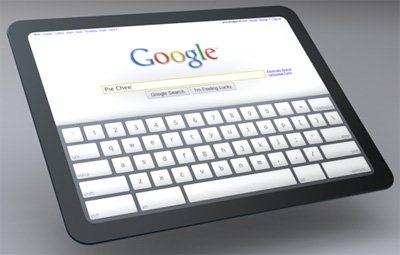 Une tablette tactile aussi chez Google ?