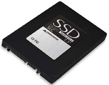 Des SSD à mémoire SLC et MLC chez Green House