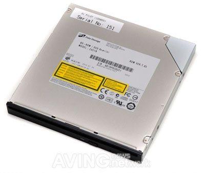 Un appareil hybride à la fois graveur et SSD