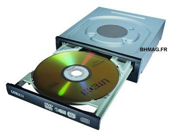 LiteON iHAS524 : graveur DVD 24x, SATA2, LabelTag et SmartErase