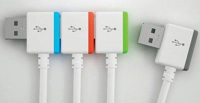 Et si les connecteurs usb étaient empilables ?