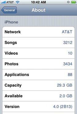 iPhone OS 4.0 : les nouveautés à venir …