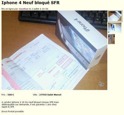 iPhone 4 : BHMAG débusque un escroc sur le site leboncoin.fr