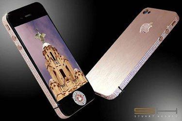 Idée cadeau (ou pas) : un iPhone 4 serti de diamants