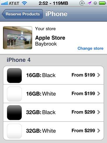 Vous cherchez un iPhone 4 blanc ? Soyez patient ….