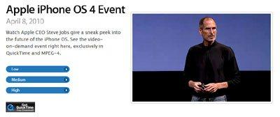Vidéo : les nouveautés de iPhone OS 4.0