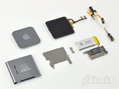 iFixit réduit en pièces détachées les trois nouveaux iPod d'Apple