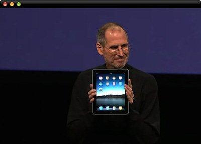 Apple iPad : vidéo de la keynote et vidéo de présentation