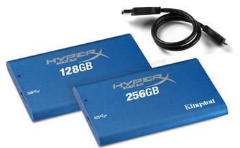 Kingston lance un SSD externe USB 3.0