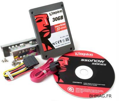 Le SSD Kingston V-Series 30Go annoncé au CES