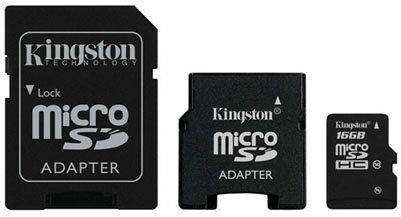 Deux nouvelles microSDHC de classe 10 chez Kingston