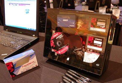 Kingston prépare des SSD à base de contrôleur SandForce