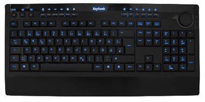 KSK-8001UEL : un clavier rétro-éclairé chez Keysonic