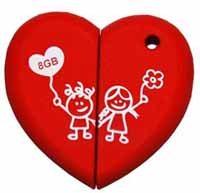 Saint Valentin : une clé usb pour les amoureux