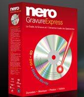 Nero Gravure Express : le logiciel de gravure Nero se simplifie encore plus ….