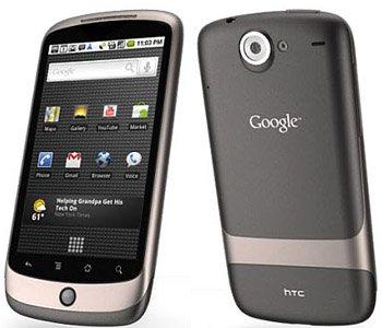 Le Nexus One de Google en détails