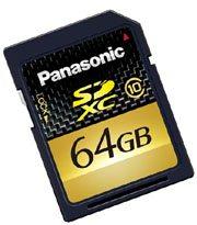 SDXC : un APN et des cartes à cette norme chez Panasonic