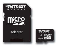 Des microSDHC de 16 et 32 Go chez Patriot