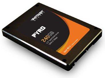 Un nouveau SSD SandForce chez Patriot : le Pyro