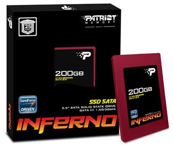 Patriot Inferno : encore un SSD SandForce !