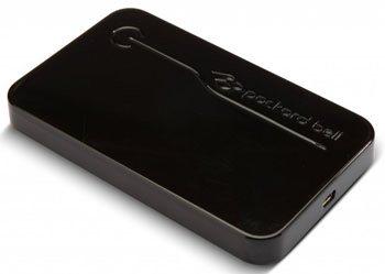 Un disque dur nomade signé Packard Bell