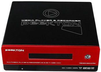PeeKBox 264 HD : boitier multimédia HD, récepteur TNT HD et enregistreur