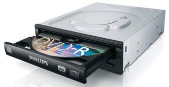 Philips SPD2525P : un graveur DVD rapide : 24x et DTC !