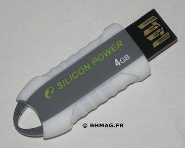 [BHMAG] Test de la clé Silicon Power Unique 530