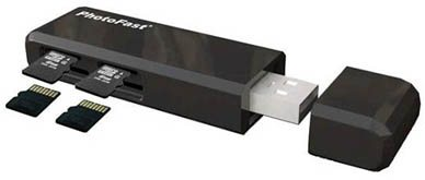 PhotoFast CR-5500 : une clé usb évolutive au fil de vos besoins ?