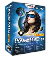 PowerDVD 10 supporte désormais les Blu-ray 3D