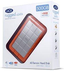 LaCie Rugged : un HDD 500Go résistant et rapide