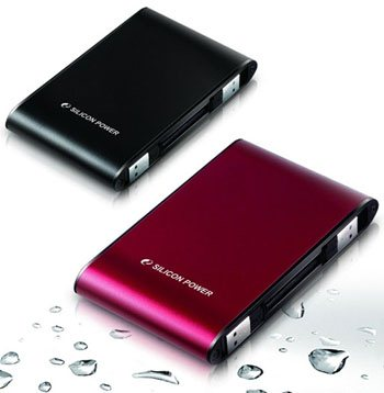 Des HDD portables résistants chez Silicon Power