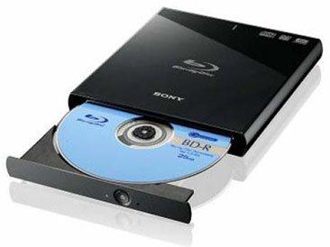 Un graveur Blu-ray au format slim chez Sony