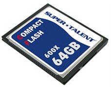 SuperTalent lance une Compact Flash très rapide : 600x !