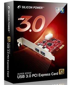 Silicon Power lance deux cartes contrôleurs USB 3.0