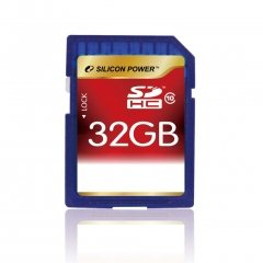 Silicon Power lance une carte SDHC de 32Go de class 10