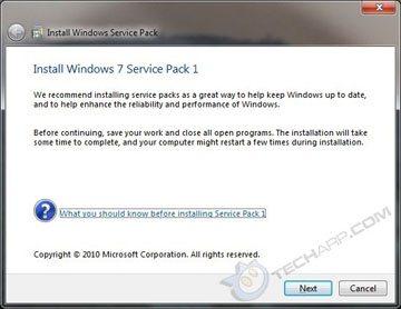 Le SP1 de Windows 7 déjà sur les réseaux P2P ?