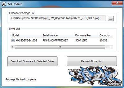 Le firmware des SSD SandForce se met à jour facilement