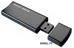 Une clé USB 3.0 rapide grace à de la mémoire cache