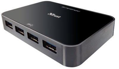 Un hub USB 3.0 aussi chez TRUST …