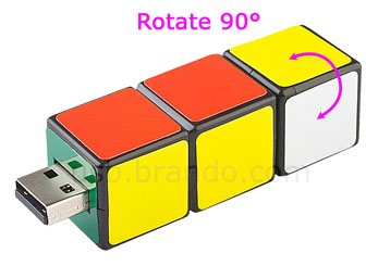 Original : une clé usb pour les fans de Rubik's Cube