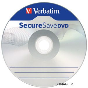 Verbatim innove et lance un DVD sécurisé !