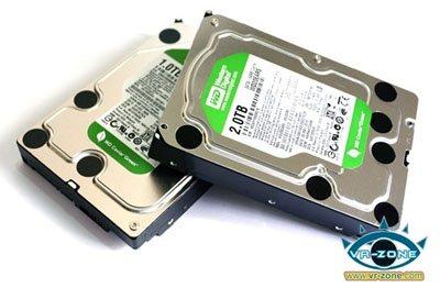 Un HDD de 2 To avec des plateaux de 667 Go chez Western Digital