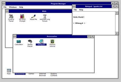 Nostalgie : Windows 3.11 est de retour !