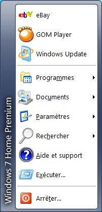 Comment obtenir un menu Démarrer classique sous Windows 7 ?