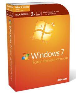Windows 7 en pack familial pour les petits budgets