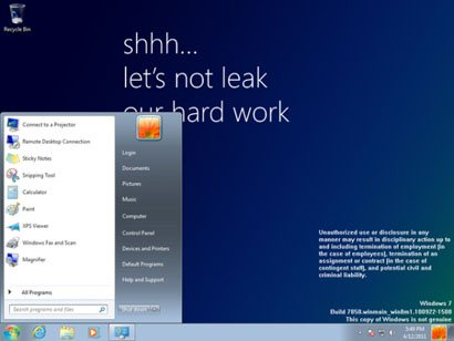 Leak : une build de Windows 8 circule déjà sur le net !