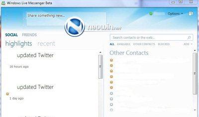 Windows Live Messenger 2010 est sur les rails…