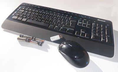 Zebulon teste le kit MS Wireless Desktop 3000