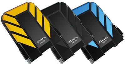 AData présente un HDD de 1 To résistant